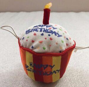 "Build a Bear CUPCAKE Happy Birthday plush 5""H BABW"