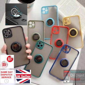360 Rotating Ring Stand Hybrid Case with Soft Silicon Edges for Best Grip.