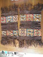 jolie morceau du tissu du culture Inca