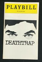 BROADWAY PLAYBILL - May 1981 - DEATHTRAP - Farley Granger / Marian Seldes   b4