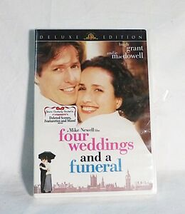 Four weddings and a funeral DVD deluxe edition hugh grant andie macdowell