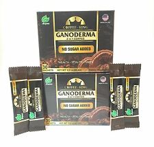 2 BOX Coffee King Premium Black Ganoderma Coffee Ganoderma Lucidum 64 Sachets