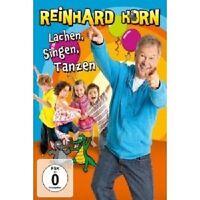 REINHARD HORN - LACHEN,SINGEN,TANZEN-DIE DVD DVD POP KINDERPOP NEU