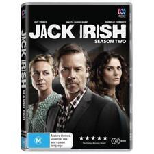 Jack Irish: Season 2 DVD 2018 TV SERIES Guy Pearce 2-DISCS BRAND NEW RELEASE R4