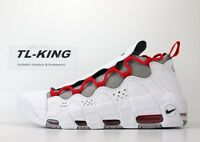 Nike Air More Money White Habanero Red Atmosphere Grey BV2520 100 CW