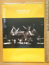 Nos Coldplay 2006 Official Calendar Uk photo photograph New sealed Rare Oop Nip