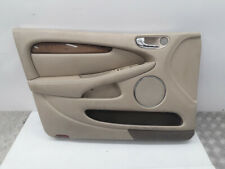 Jaguar X-Type 2004 LHD front left door card panel cover trim beige