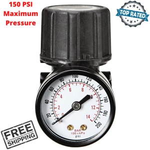 Air Compressor Regulator 150 PSI With Dial Gauge For Craftsman Pneumatic Tools