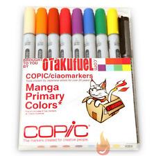 Copic Ciao Manga Kit - Primary Colors Marker Set [Otakufuel-Hineko set]
