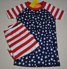 Gymboree toddler boy two piece sleepwear pajama set size 3 3T NWT patriotic 4th