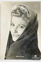 34619 Ross Editore Film Autografo Foto Ak Gisela Uhlen Del 1940 Originale