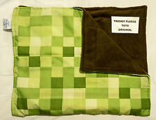 WEIGHTED lap pad 1kg shoulder Minecraft AUTISM Aspergers ADHD green brown