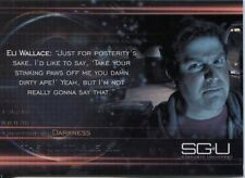 Stargate Universe Season 1 Quotable Eli Chase Card Q2