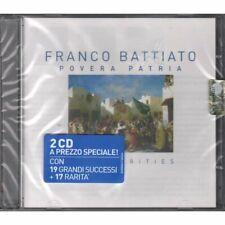 Franco Battiato 2 CD Pobre Patria Best & Rarities / Emi 5099994728224 Sellado
