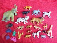 Konvolut , alter Kunststofffiguren__Tiere__Zootiere__u.a. Schleich__