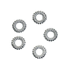1000x binderinge, cerrado, D. 5mm, color plata