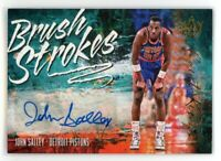 2018-19 JOHN SALLEY 043/149 AUTO PANINI COURT KINGS BRUSH STROKES AUTOGRAPHS