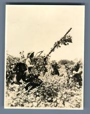 Second Sino Japanese War  Vintage silver print. The Second Sino-Japanese War (Ju