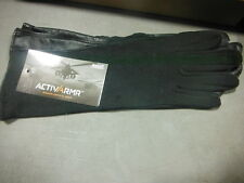 ANSELL ACTIVARMR BLACK FLYER GLOVES SIZE 8 46-402 276030 104500 ~ NEW