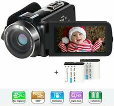 Video Camera Camcorder HD 1080P 24MP YouTube Vlogging Camera 3
