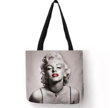 MARILYN MONROE egoista preventivo Canvas Tote Shopping Bag Borsa Shopping Cotone Regalo