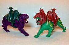 HE-MAN BATTLE CAT & SKELETOR PANTHOR Masters of the Universe - MOTU - Complete