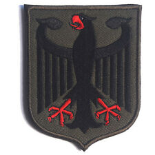 GERMAN EAGLE GERMANY 3D ARMY MORALE BADGE TACTICAL PATCHES HOOK & LOOP PATCH #3
