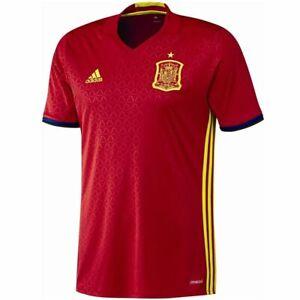 adidas Spanien Heim Trikot Kinder rot Trikots Heimtrikot Jersey Fan Fußball