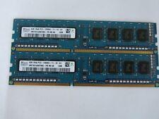 Hynix 8GB Kit (2x4GB) PC3-12800 DDR3 1600Mhz Desktop Memory