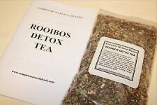ROOIBOS DETOX TEA HERBAL LIVER BODY CLEANSE toxins DETOXIFY organic Slippery Elm