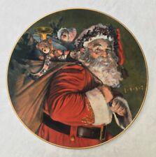 Avon Vintage 30 y.o! 1987 The Magic That Santa Brings Collector Christmas Plate