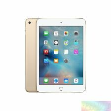 "Apple  iPad Mini 4 WiFi  Gold  128GB 7.9""  Unlocked AU WARRANTY Tablet"