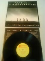 WHITE LIGHTNING - AS MIDNIGHT APPROACHES LP + INNER!!! UK 1ST PRESS WORKSHOP