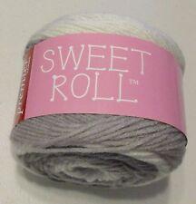 Premier Sweet Roll self striping yarn Silver Swirl acrylic yarn