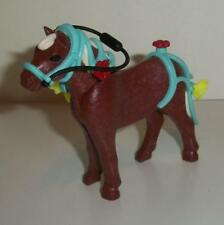 Playmobil Brown Shetland Pony, Decorated Blue Bridle-Stables/Farm/Horse sets-NEW