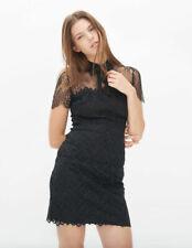 Sandro Black Rozen Lace Bow Dress Sz 3 (US 6 8 / Large) $510