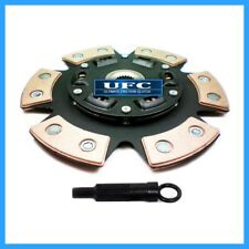 UF 6-PUCK STAGE 3 RACE CLUTCH DISC+FREE ALIGN TOOL 215mm fits HYUNDAI MITSUBISHI