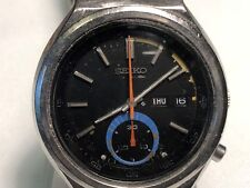 VINTAGE SEIKO CHRONOGRAPH MEN'E AUTOMATIC WRISTWATCH 6139-7069 NO RESEREV