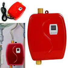 Mini Instant Tankless Hot Water Heaters Shower Temperature 35-45℃ 3000W Kitchen