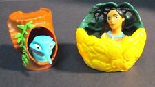 Disney Burger King Pocahontas and Flit Humming Bird Finger Puppet Toy