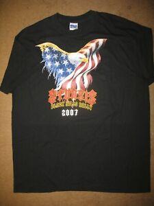 Sturgis T-Shirt Black Hills Rally 2007 Size Large