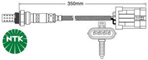PAIR OF NTK 4 WIRE PRE CATALYTIC OXYGEN SENSORS FOR HOLDEN RODEO TF 6VD1 3.2L V6