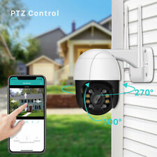 3MP PTZ Wifi IP Wireless Camera Outdoor 4X Digital Zoom AI + Audio + Motion