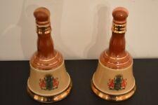 2 1969 Jim Beam Bell'S Royal Vat Decanter Antique Collectible