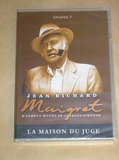 DVD SERIE / MAIGRET / JEAN RICHARD / LA MAISON DU JUGE / NEUF SOUS CELLO