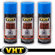 VHT High Temperature Spray Paint ENGINE ENAMEL Ford Light Blue SP134 X 3 CANS