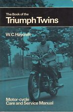 Haycraft ~ Book of the TRIUMPH TWINS 1956-1969 ~ 1973 Motorcycle Service Manual