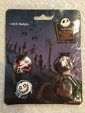 Tim Burton's The Nightmare Before Christmas Pin Set