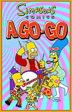 Simpsons Comics A-go-go, Matt Groening, etc., et al, Very Good Condition Book