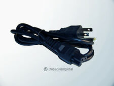 3Pin Laptop Ac Power Cord For Dell Ibm Compaq Asus Notebook Pc Outlet Plug Cable